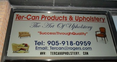 Ter-Can Products and Upholstery